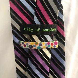 ⚡️⚡️⚡️SALE City of London Striped Tie